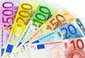 A Fan Of Euro Banknotes Stock Photos - 24667183