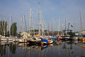 Canal In Harlingen Stock Image - 24686131