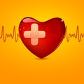 Wounded Heart Royalty Free Stock Photos - 24686358