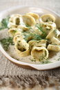 Kipper Ravioli With Dressing D Stock Photography - 2479202