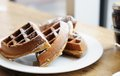 Belgian Waffles Royalty Free Stock Photos - 24700638
