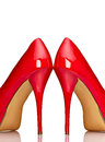 Red High Heel Shoes Stock Images - 24713874