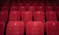 Empty Cinema Hall Seats Stock Images - 24716124