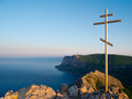 Cross On The Top Royalty Free Stock Photography - 24735187