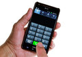 AT&T Smartphone: Making A Call Royalty Free Stock Image - 24738566