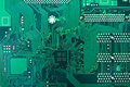 Green Circuit Board Stock Images - 24746734