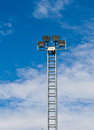 Tower Of Spot-light  Or Flood Light Royalty Free Stock Photography - 24750857