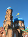 Pokrovsky Cathedral. Barnaul Royalty Free Stock Photos - 24754048