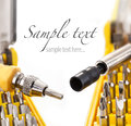Precision Screwdriver Bit Stock Photos - 24754713