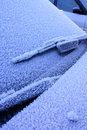 Frosty Car Royalty Free Stock Photography - 24758567