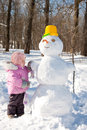 Snowman Royalty Free Stock Photography - 24766587