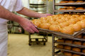Baker In His Bakery Royalty Free Stock Photos - 24769068