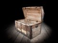 Empty Treasure Chest Royalty Free Stock Photography - 24779227