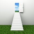 Stairway To The Sky Royalty Free Stock Photo - 24785375