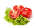 Tomato Vegetable And Lettuce Salad Stock Images - 24785814