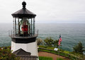 Light House In Cape Meares Stock Photography - 24805792