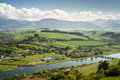 Country With A Bridge Royalty Free Stock Image - 24805846