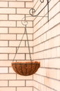 Flower Basket - Hanging Cache-pot Royalty Free Stock Photography - 24807967