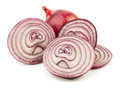 Cut Red Onion Stock Image - 24808961
