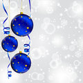 Christmas Ball With Gold Star Royalty Free Stock Image - 24812506