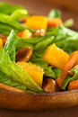Spinach Mango Carrot Salad Royalty Free Stock Image - 24813446