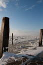 Frozen Wadden Sea Royalty Free Stock Photo - 24822625