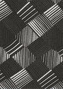 Geometric Black And White Pattern. Royalty Free Stock Photos - 24828708