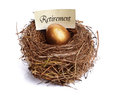 Retirement Savings Golden Nest Egg Stock Photos - 24835303