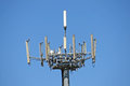 Antennas For The Transmission Of Signals Of Mobile Pho Royalty Free Stock Photography - 24841817
