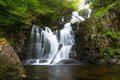 Torc Waterfall In Killarney National Park Royalty Free Stock Photography - 24865317