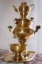 Traditional Russian Old Samovar Stock Photography - 24866142