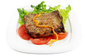 Grilled Pork Chop Royalty Free Stock Photo - 24867845