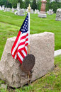 Veteran Grave Site Stock Image - 24886881