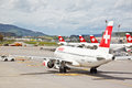 SWISS S Air Crafts At Zurich Airport 5 Royalty Free Stock Images - 24898779