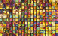 Colorful Mosaic Wall For Background Royalty Free Stock Image - 24899666