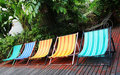 Deck Chairs Royalty Free Stock Images - 2495269