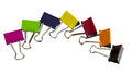 Binder Clips Royalty Free Stock Photo - 24903725