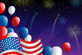 Fourth Of July Fireworks Stock Photos - 24906483