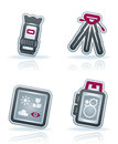 Photography Icons Set Royalty Free Stock Images - 24909229