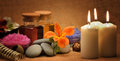 Object For The Spa With Candle Royalty Free Stock Photo - 24917915