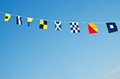 Nautical Flags Royalty Free Stock Photo - 24928235