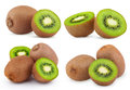 Set Of Ripe Kiwi Fruits Stock Image - 24930401