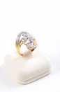 Diamond And Gold Ring Stock Photography - 24930602