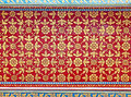 Thai Art Wall Pattern Royalty Free Stock Images - 24930729