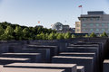 Holocaust Memorial, American Embassy And Reichstag Royalty Free Stock Images - 24935929