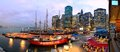 South Street Seaport In New York City Stock Image - 24937381