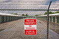 Private Property No Trespassing Royalty Free Stock Photos - 24944248