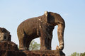 Elephant Sculpture In The Temple Of East Mebon Stock Photography - 24962612