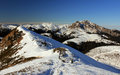 Winter Landscape In The Mountains Royalty Free Stock Images - 24982839