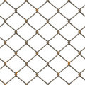 Rusty Fence Texture (rendered) Stock Image - 2501371